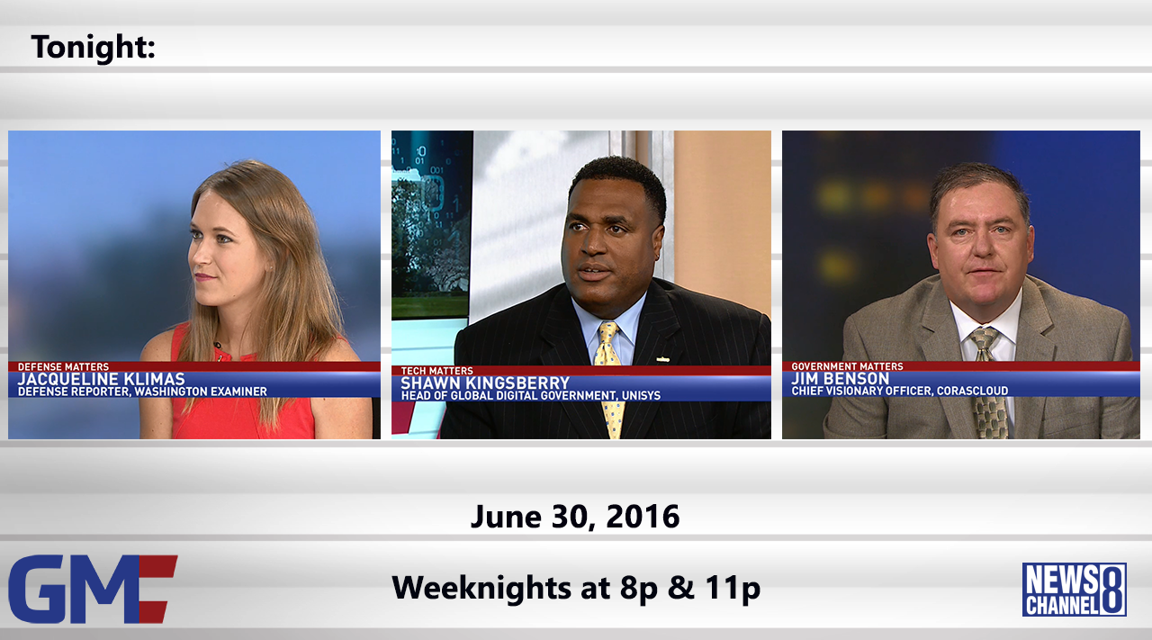 Government Matters (Full Show) – June 30, 2016