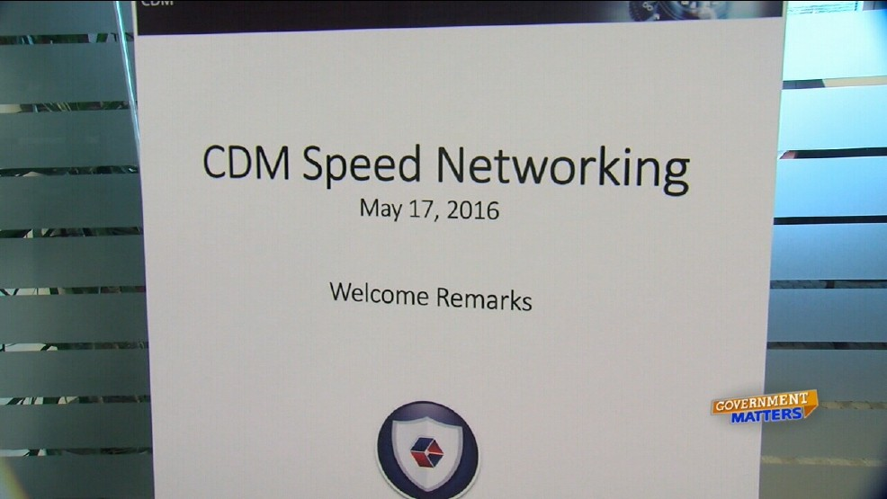 Speed networking designed to help prime contractors meet CDM goals