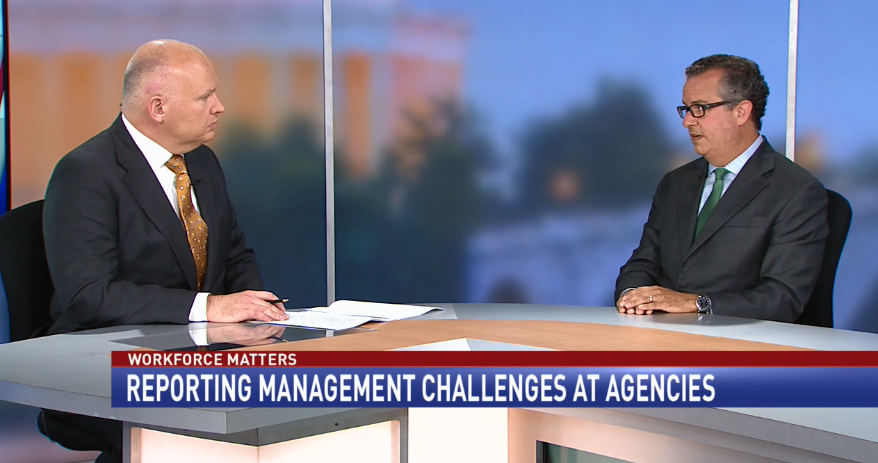 Reporting management challenges at agencies