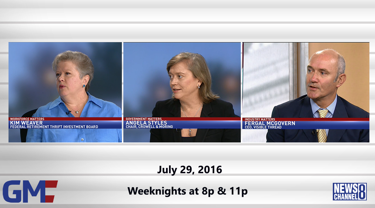 Government Matters (Full Show) – July 29, 2016