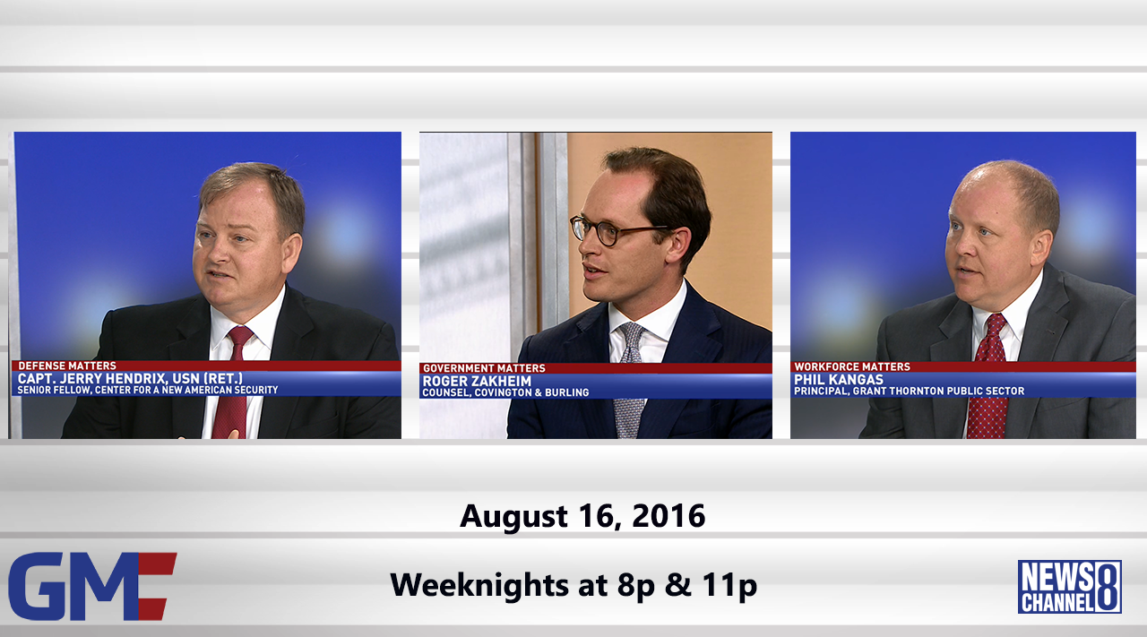 Government Matters (Full Show) – August 16, 2016