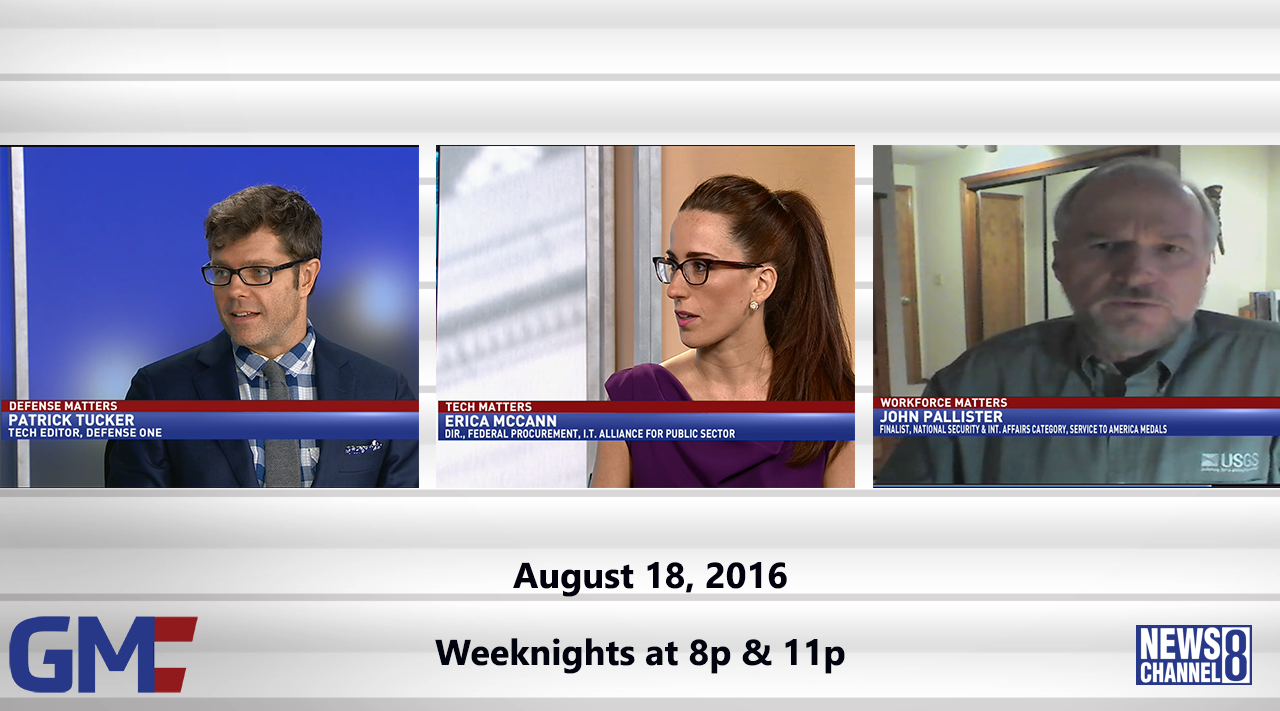 Government Matters (Full Show) – August 18, 2016