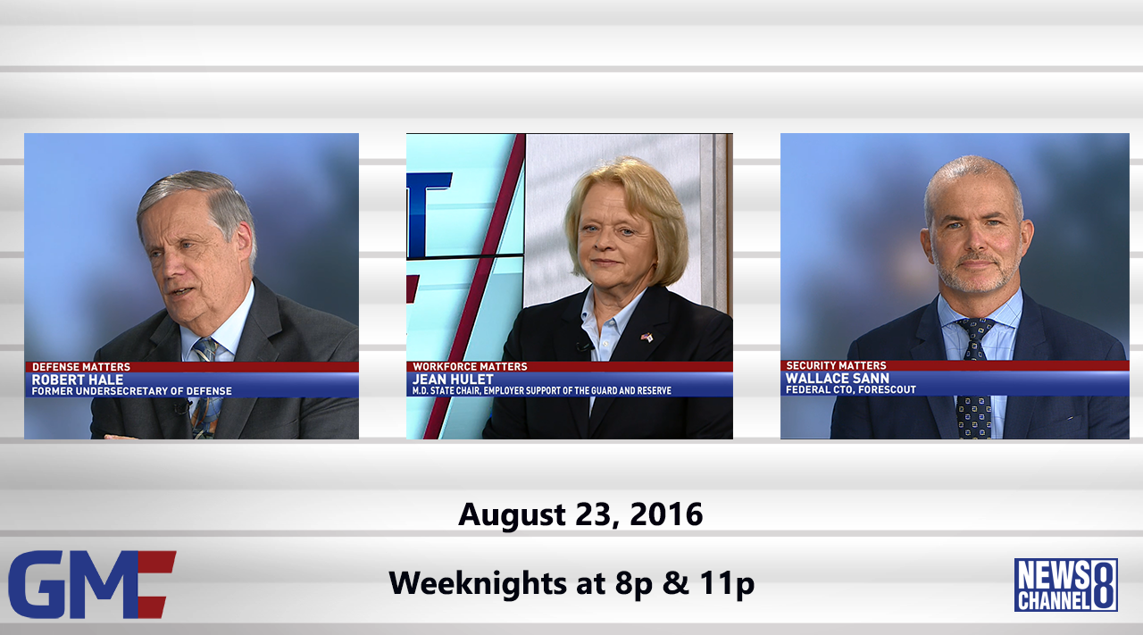 Government Matters (Full Show) – August 23, 2016