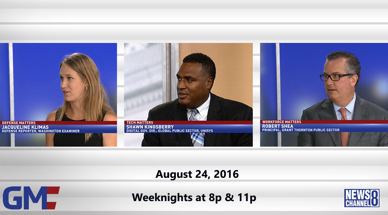Government Matters (Full Show) – August 24, 2016