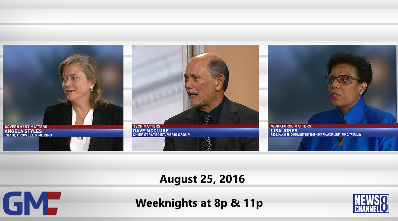 Government Matters (Full Show) – August 25, 2016