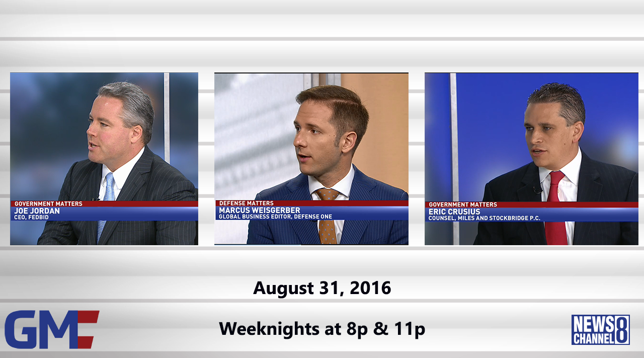 Government Matters (Full Show) – August 31, 2016