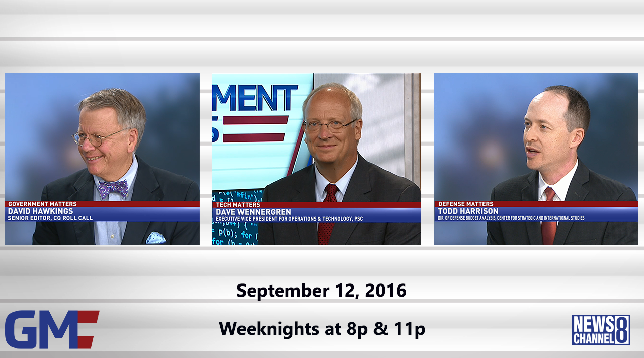 Government Matters (Full Show) – September 12, 2016