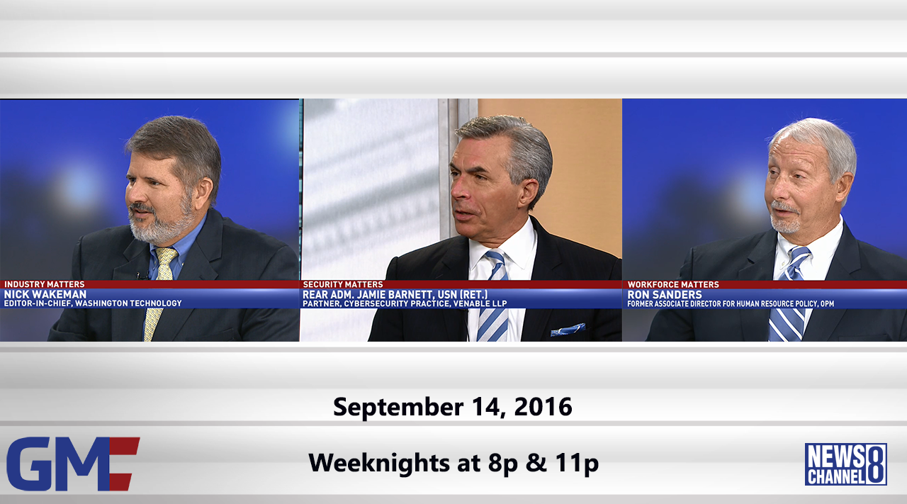 Government Matters (Full Show) – September 14, 2016