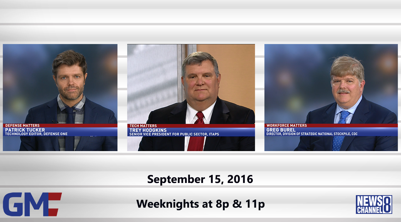 Government Matters (Full Show) – September 15, 2016