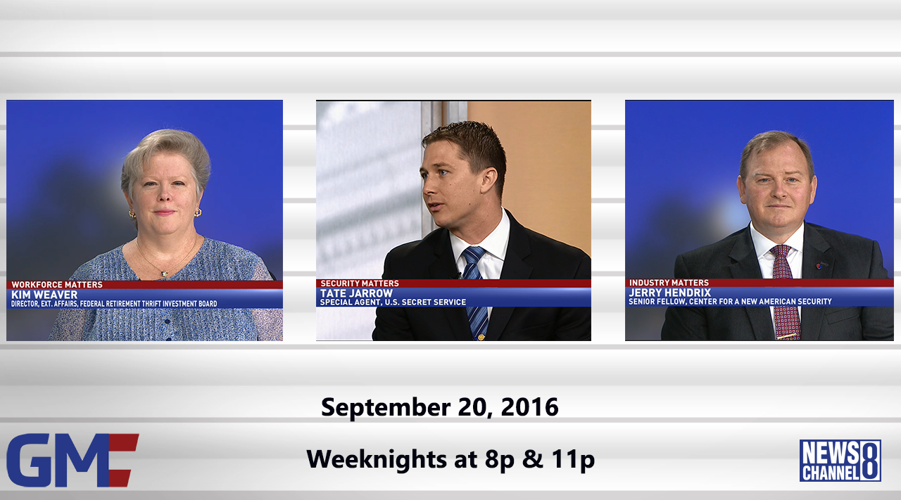 Government Matters (Full Show) – September 20, 2016