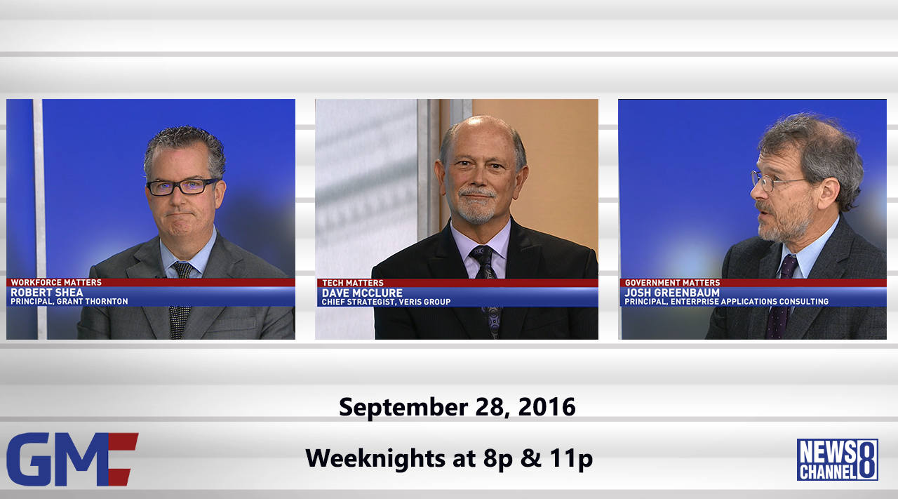 Government Matters (Full Show) – September 28, 2016