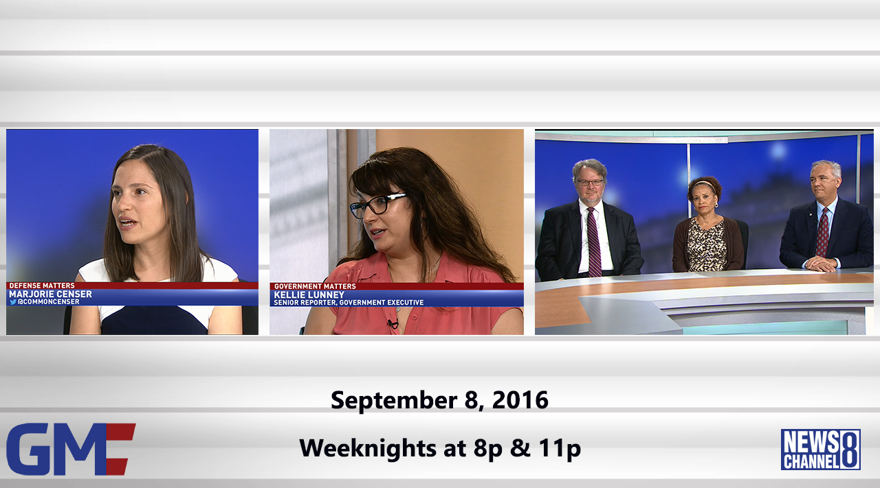 Government Matters (Full Show) – September 8, 2016