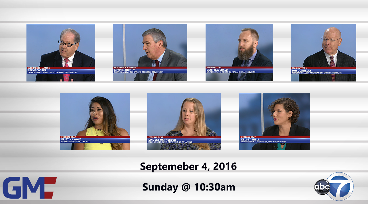 Government Matters (Full Show) – September 4, 2016