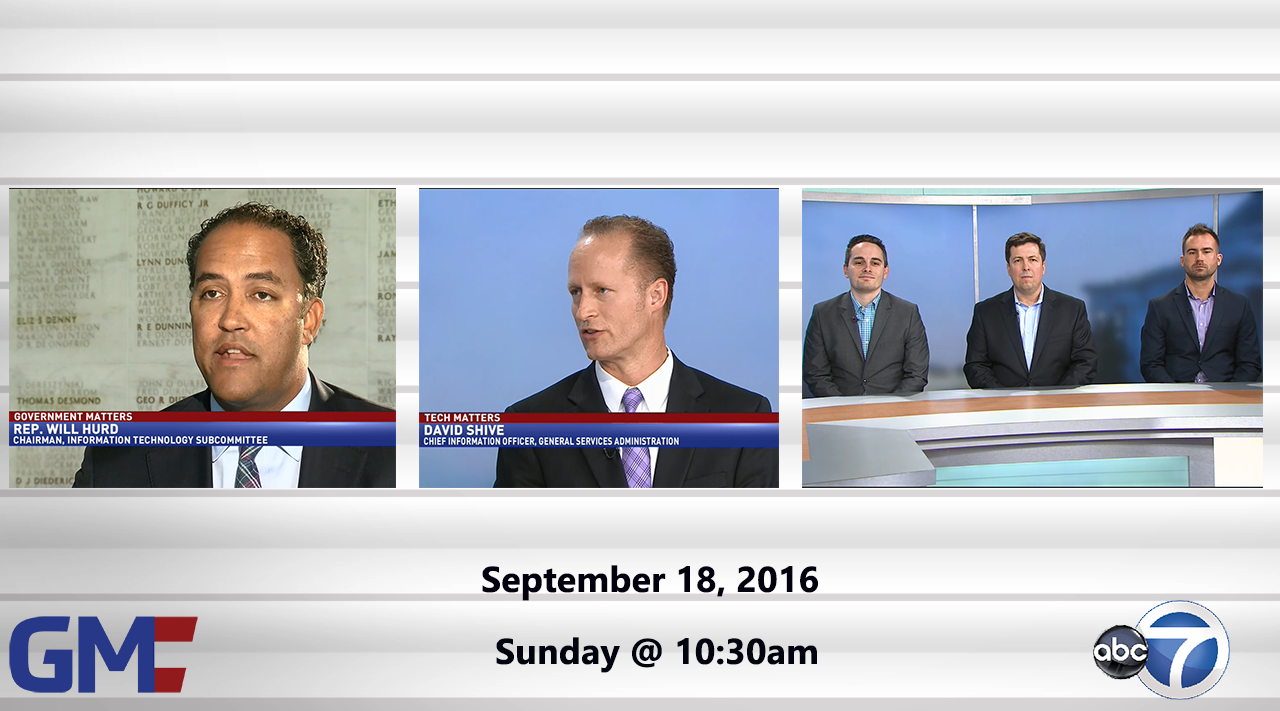 Government Matters (Full Show) – September 18, 2016
