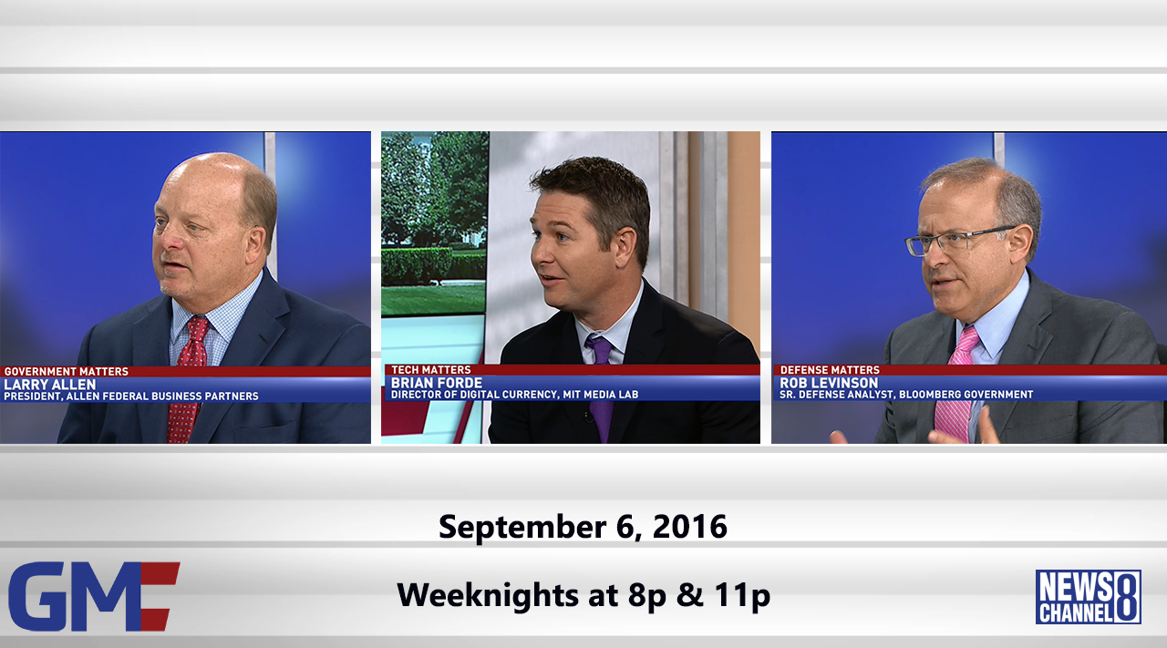 Government Matters (Full Show) – September 6, 2016