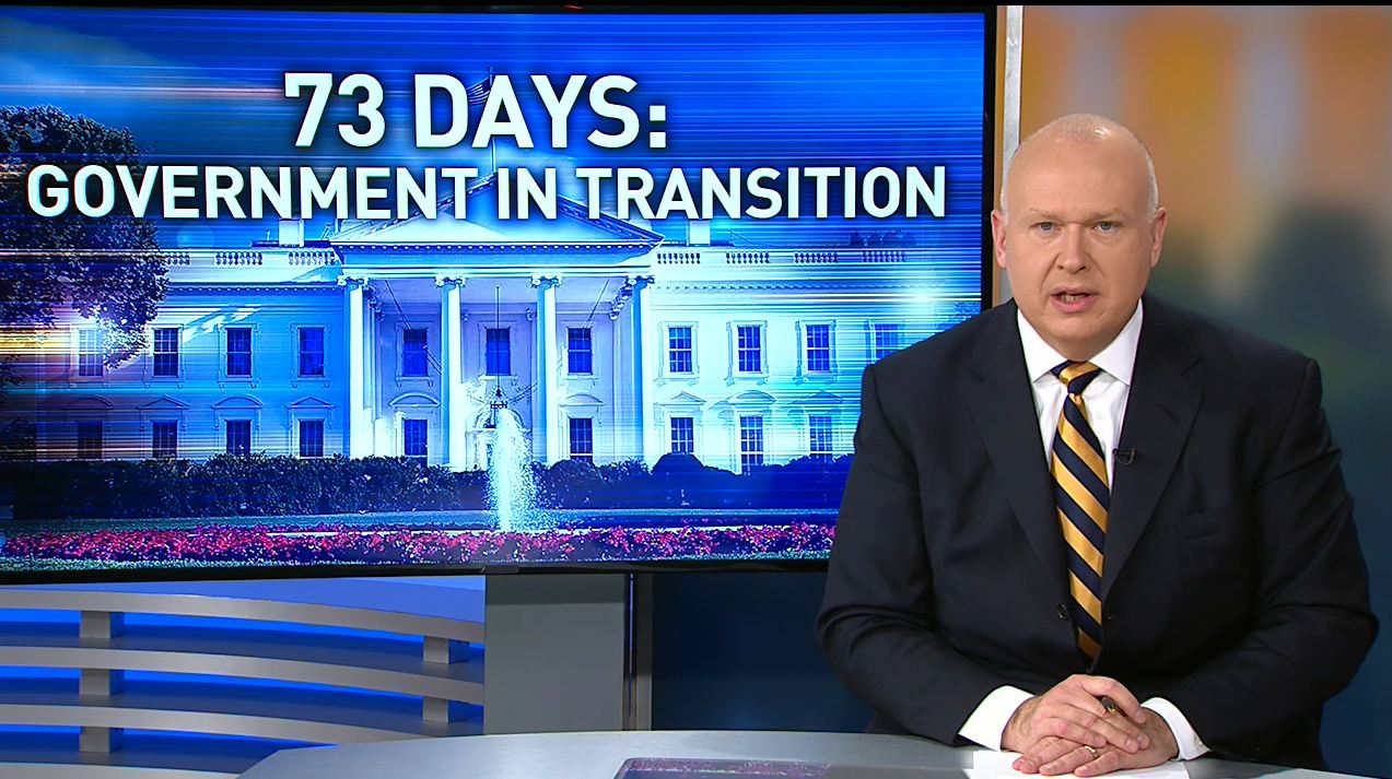73 Days: Government in Transition