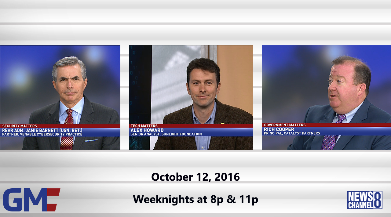 Government Matters (Full Show) – October 12, 2016