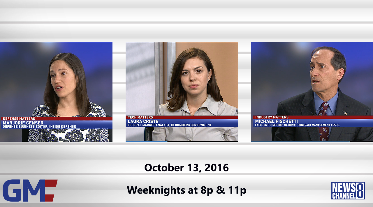 Government Matters (Full Show) – October 13, 2016