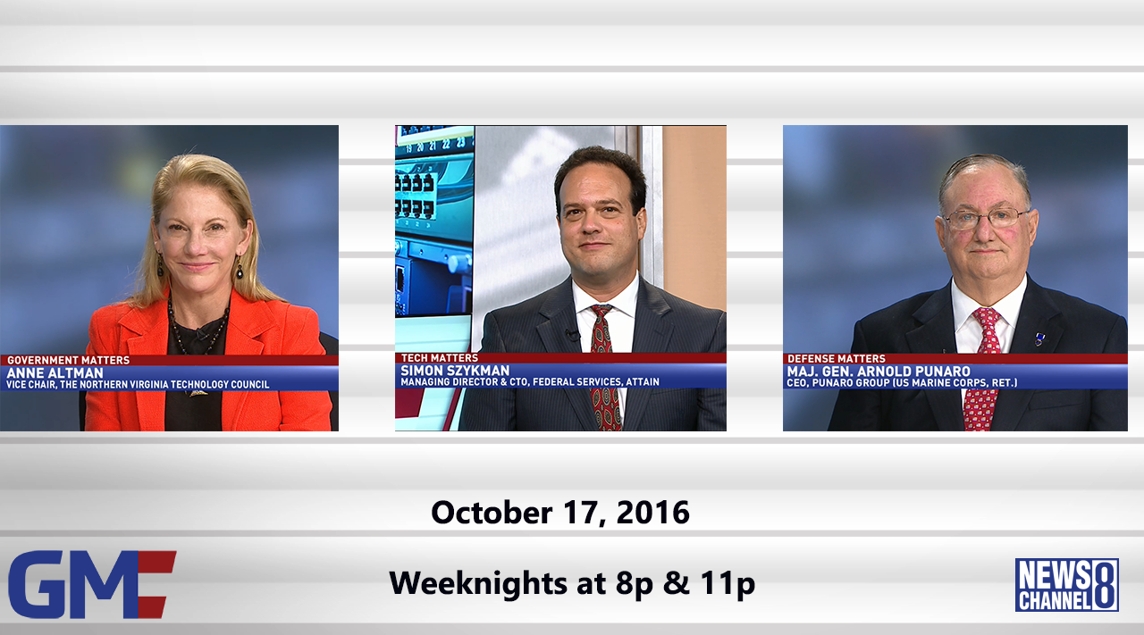Government Matters (Full Show) – October 17, 2016