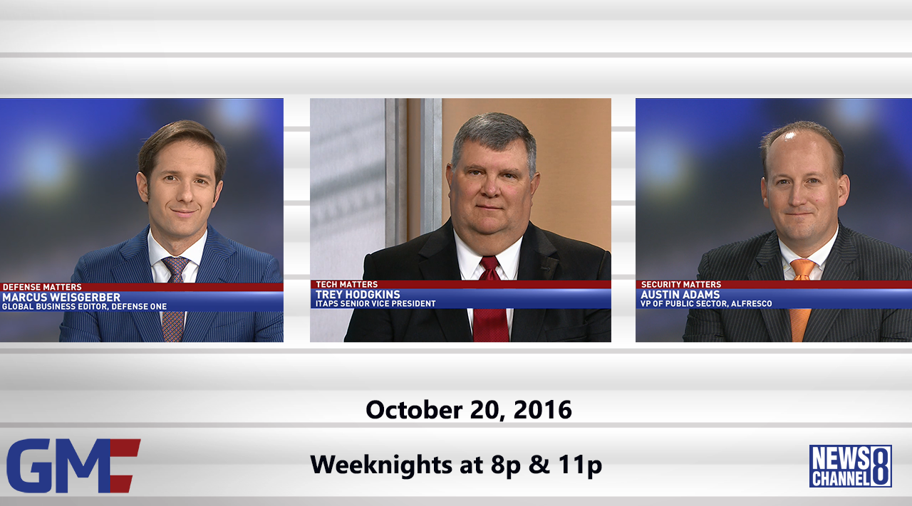 Government Matters (Full Show) – October 20, 2016