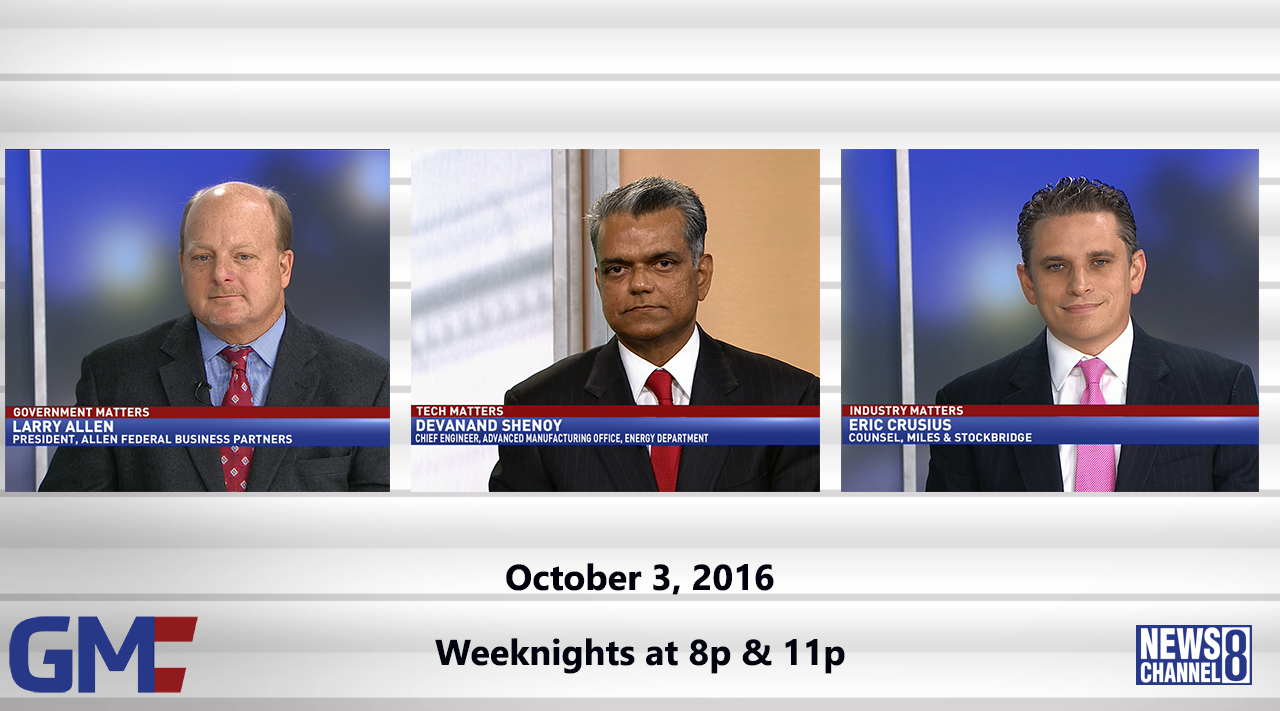 Government Matters (Full Show) – October 3, 2016