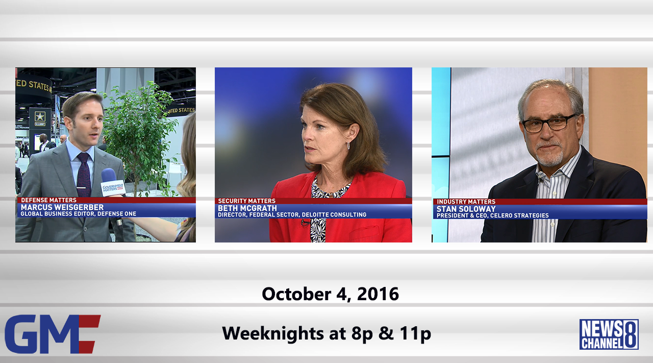 Government Matters (Full Show) – October 4, 2016