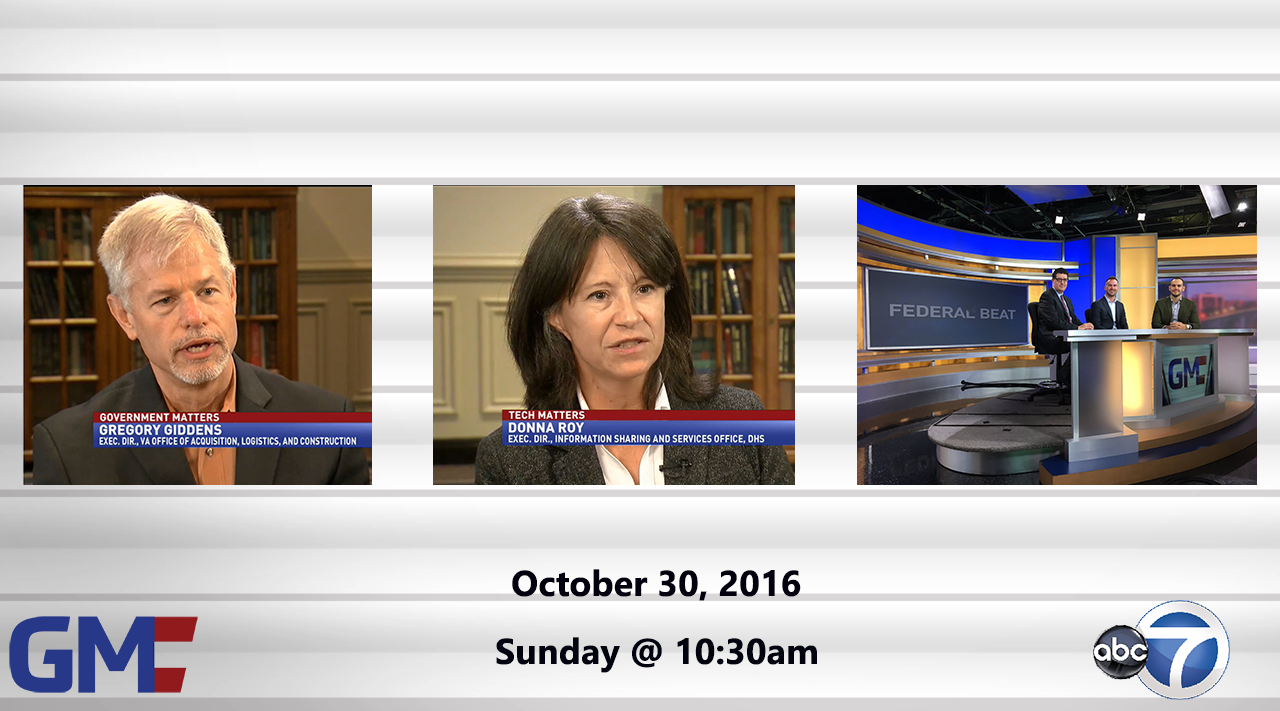Government Matters (Full Show) – October 30, 2016