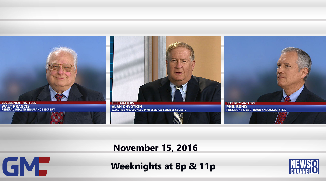Government Matters (Full Show) – November 15, 2016