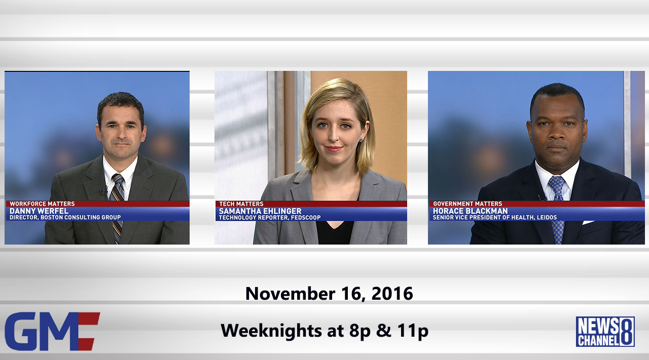 Government Matters (Full Show) – November 16, 2016