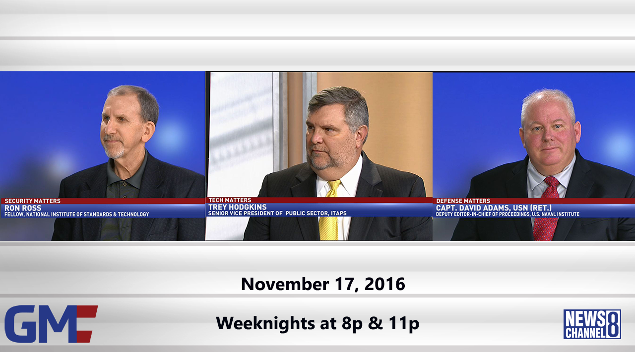Government Matters (Full Show) – November 17, 2016