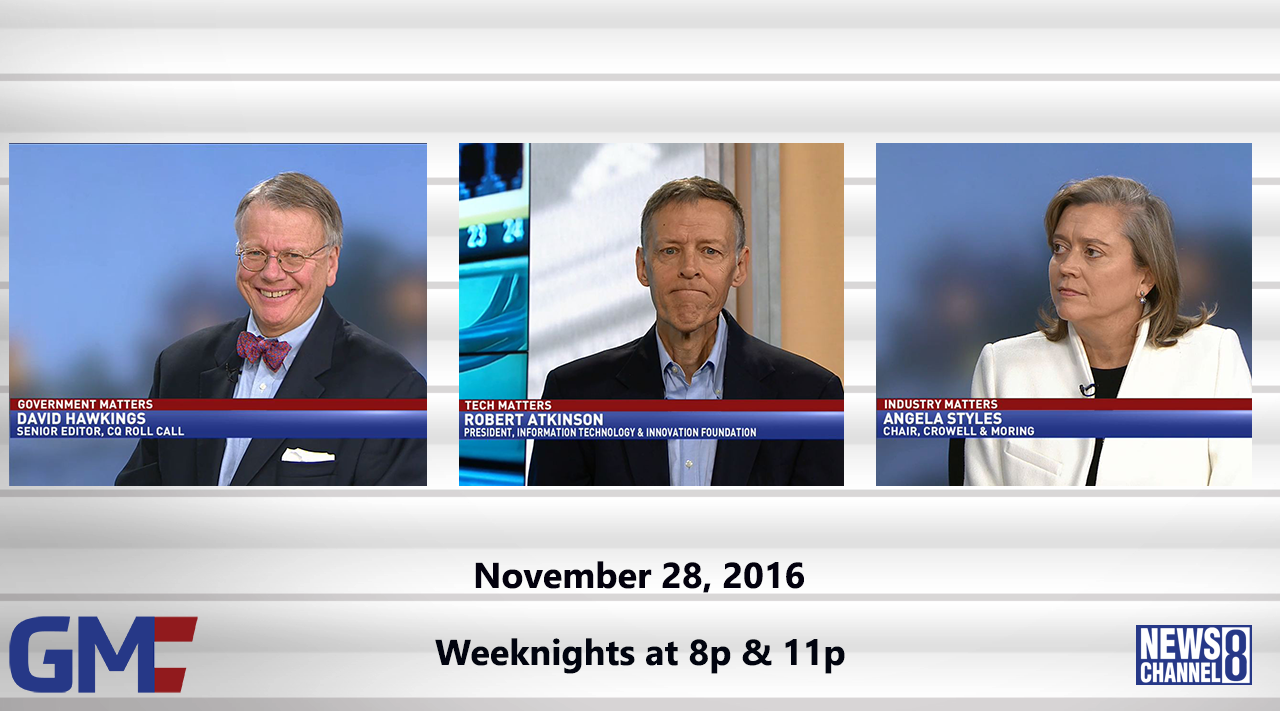 Government Matters (Full Show) – November 28, 2016