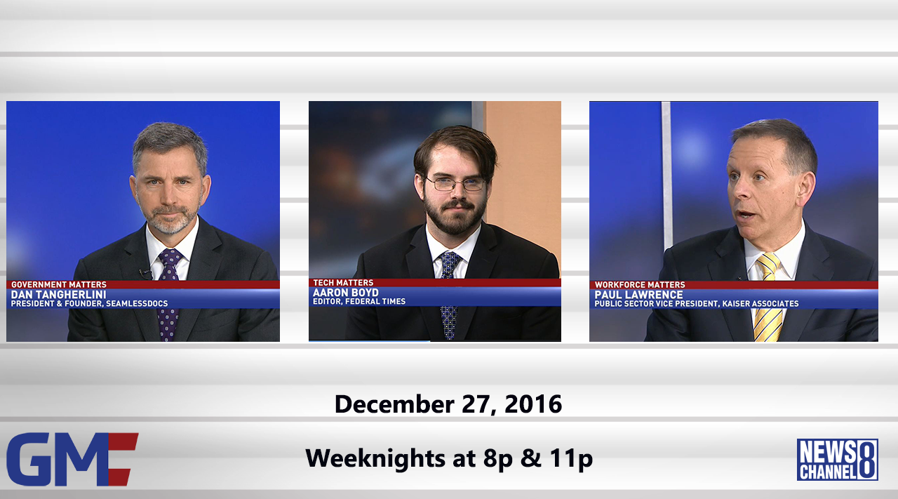 Government Matters (Full Show) – December 27, 2016