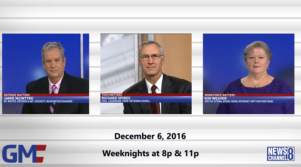Government Matters (Full Show) – December 6, 2016