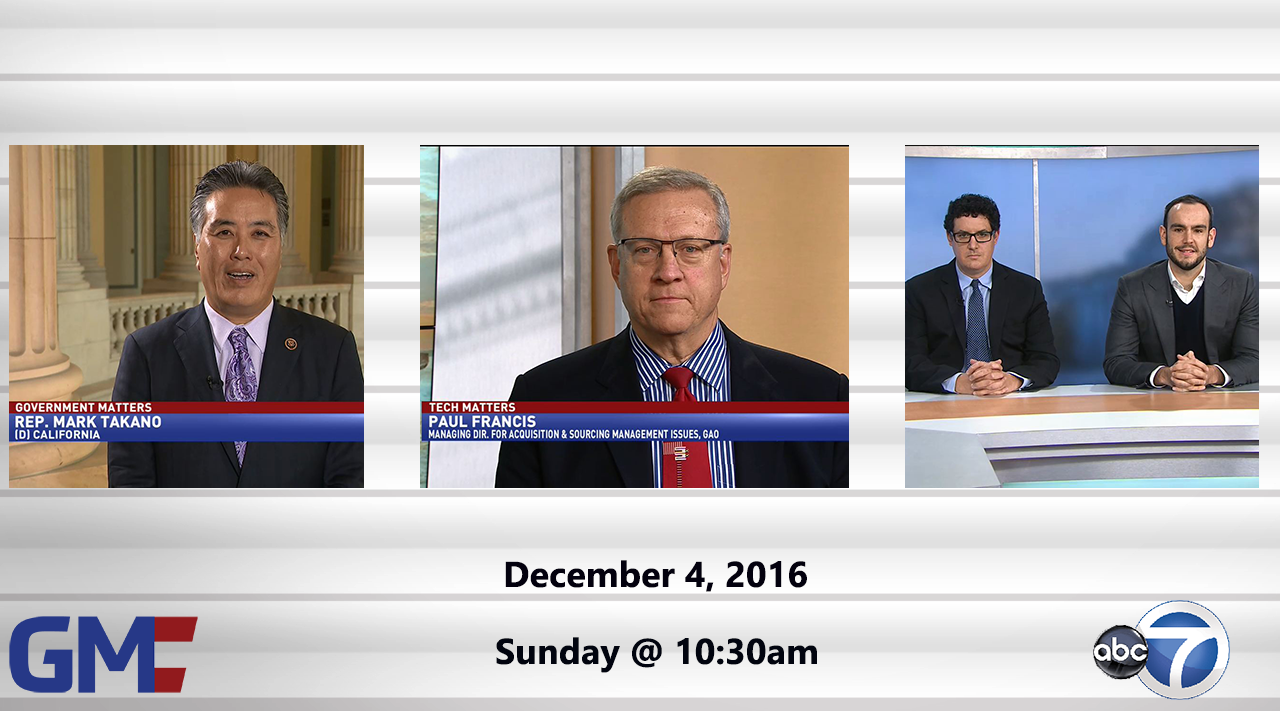 Government Matters (Full Show) – December 4, 2016