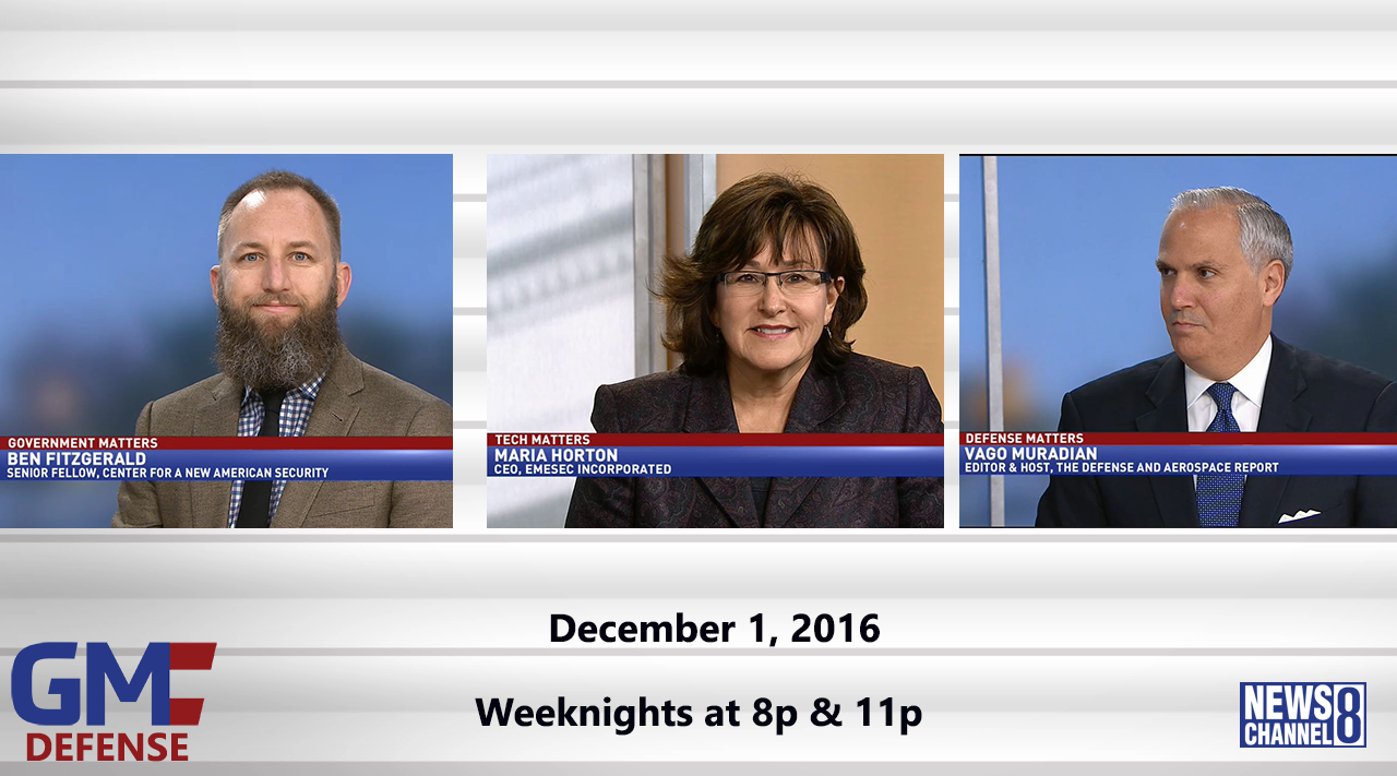 Government Matters (Full Show) – December 1, 2016