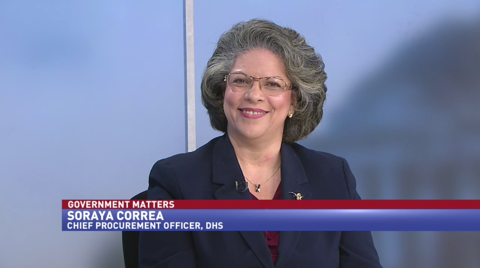 DHS's chief procurement officer Sorya Correa (Part 1)
