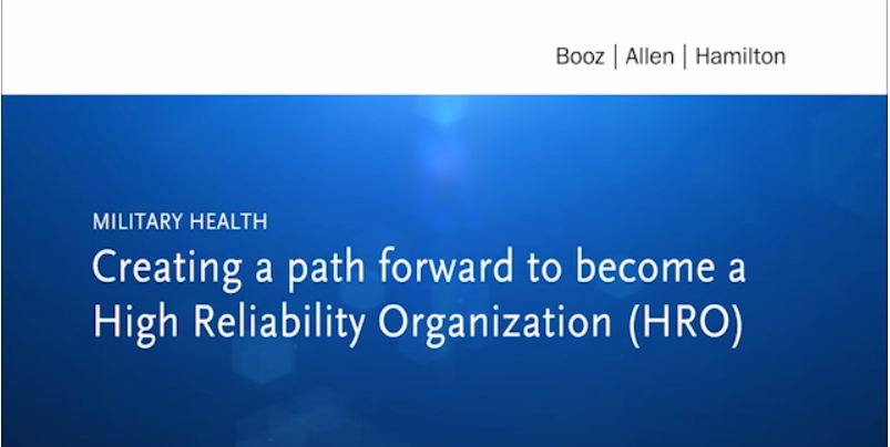 Creating a path forward to become a High Reliability Organization (HRO)