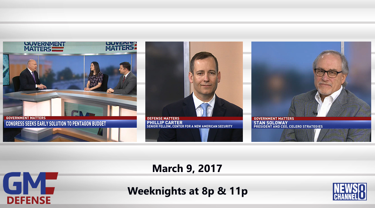 Government Matters (Full Show) – March 9, 2017