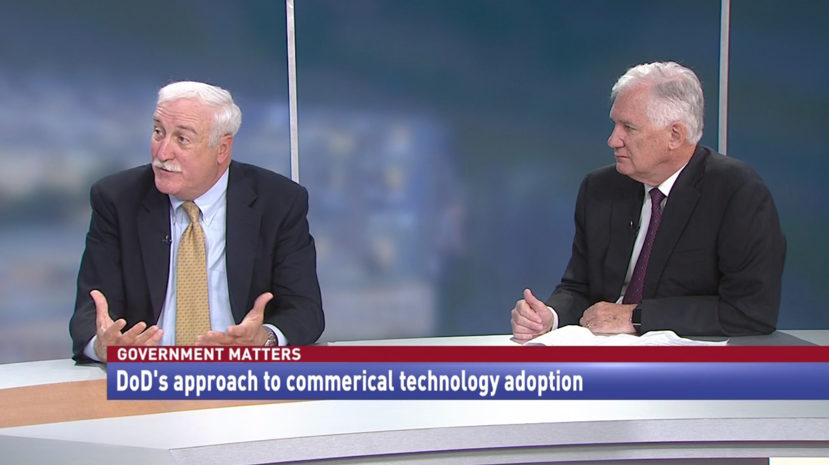 DoD's approach to commercial technology adoption