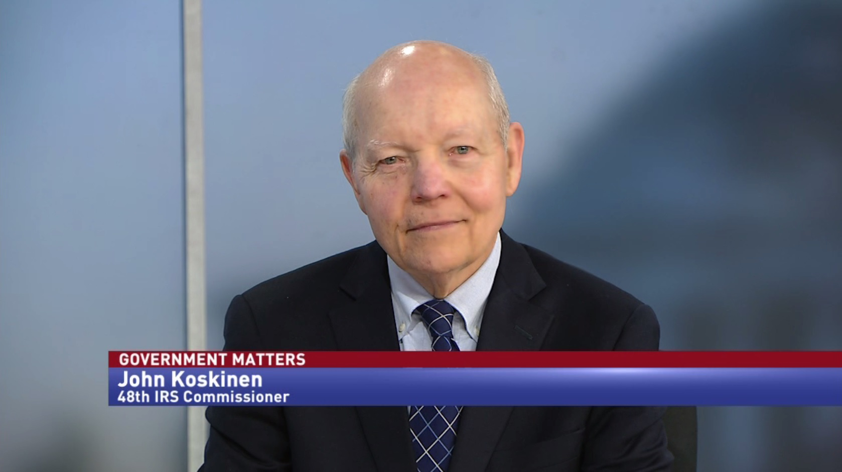 Exit interview with John Koskinen