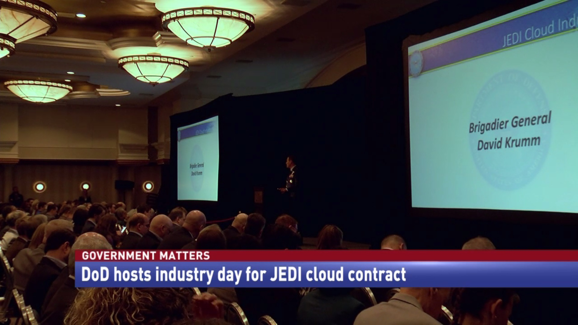 DoD's Cloud Industry Day (Video Report)
