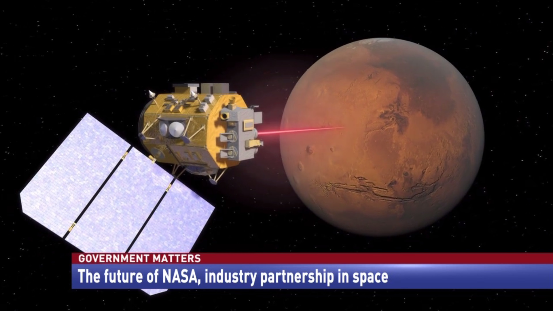 The future of NASA, industry partnership in space