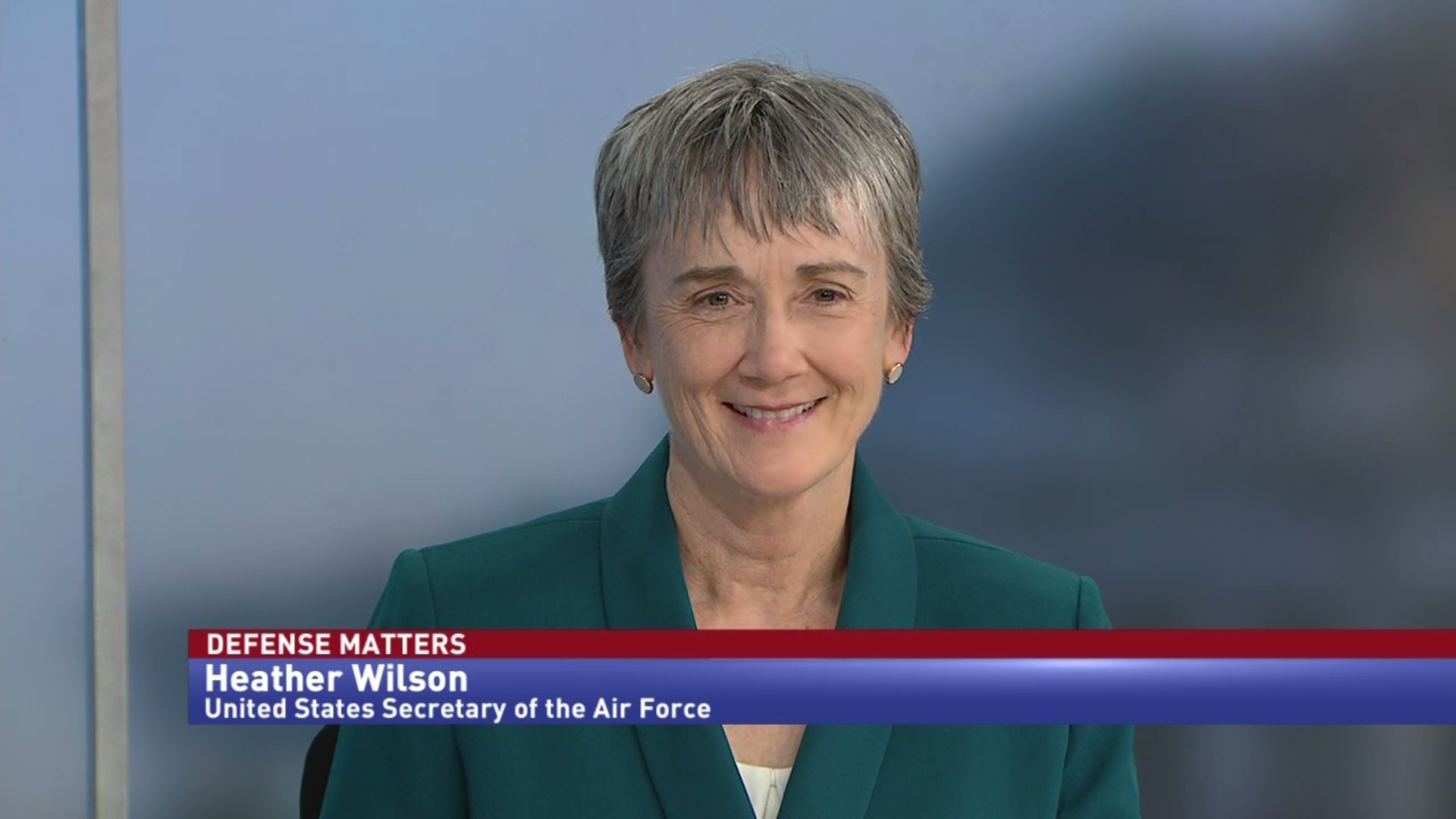 U.S. Air Force Secretary Heather Wilson lays out top priorities