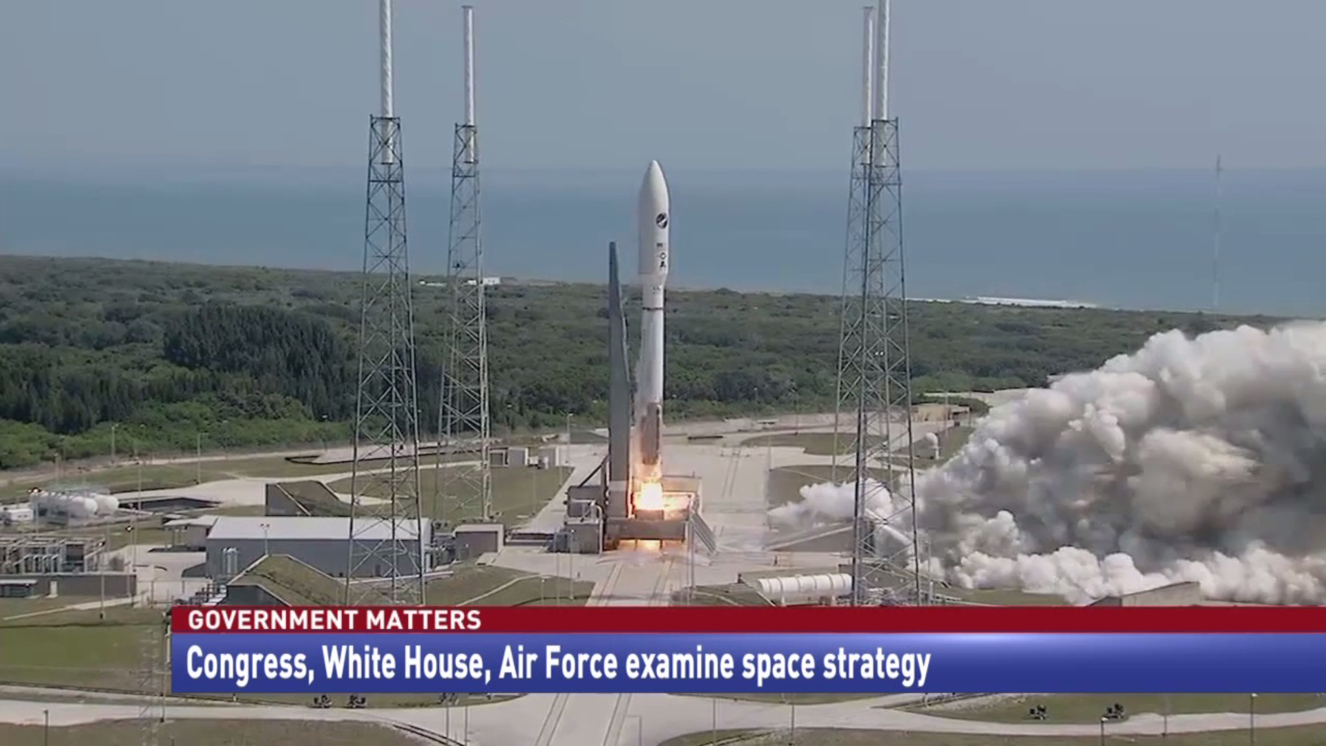 Congress, White House, Air Force examine space strategy