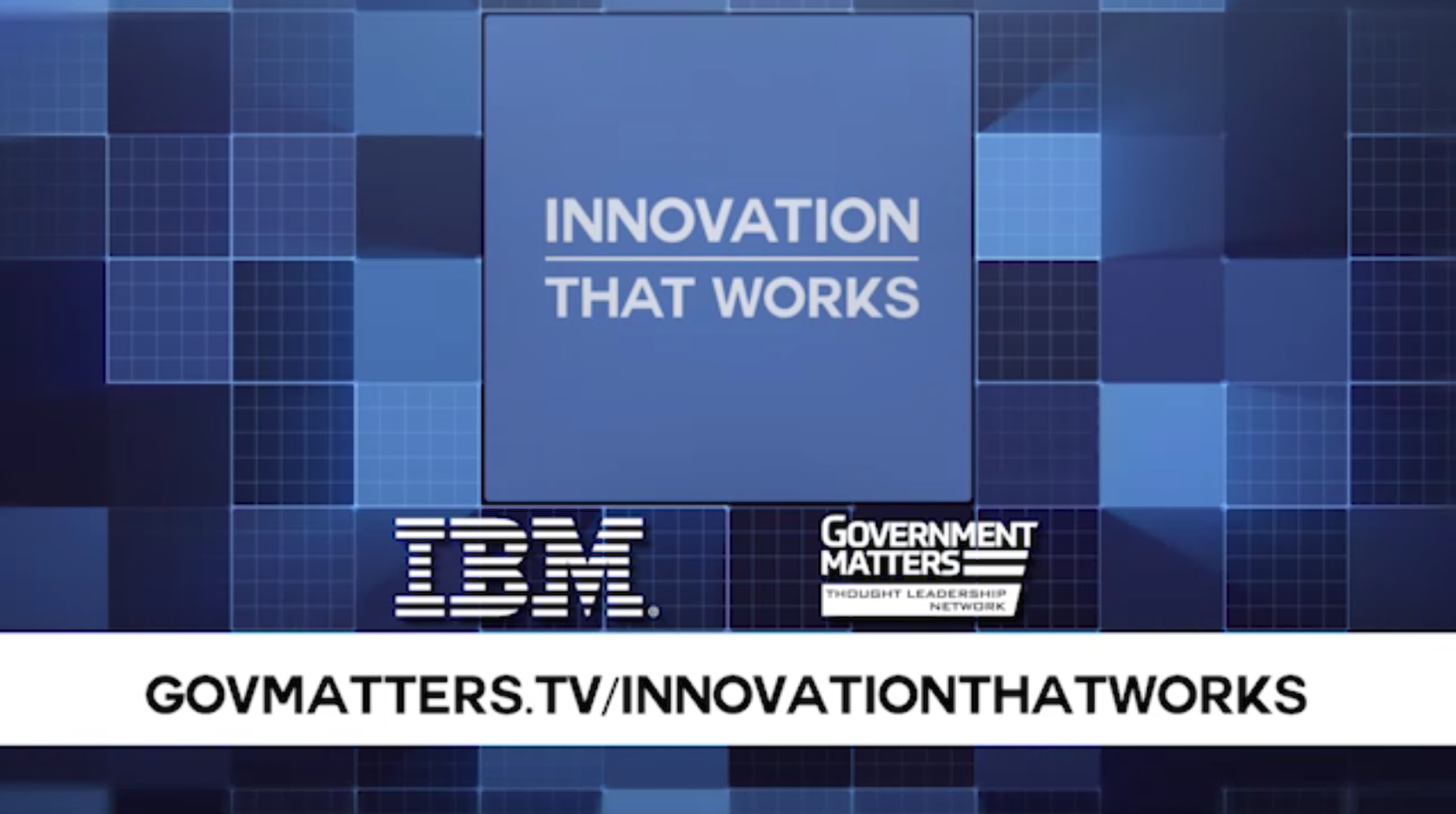 Innovation That Works: Internet of Things