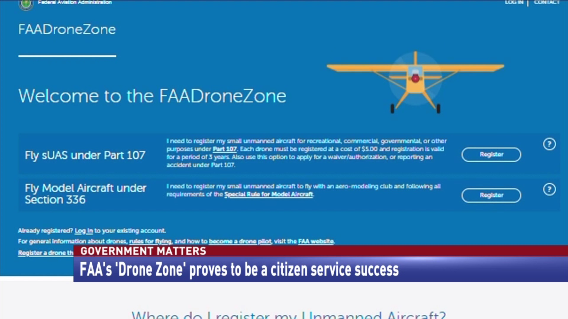 FAA's 'Drone Zone' proves to be a citizen service success
