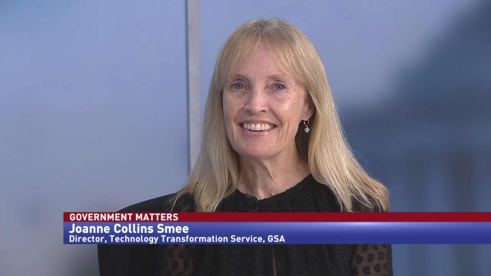 Exit interview with GSA Technology Transformation Service Director Joanne Collins Smee
