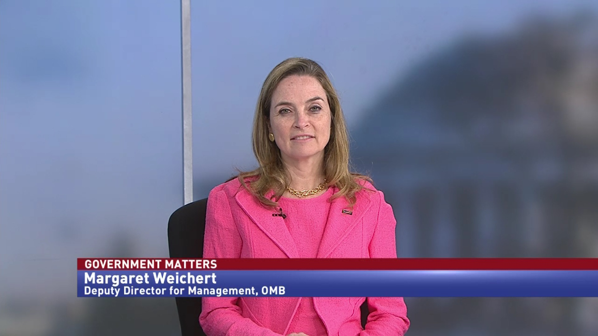 Exclusive Sit-Down with OMB's Margaret Weichert