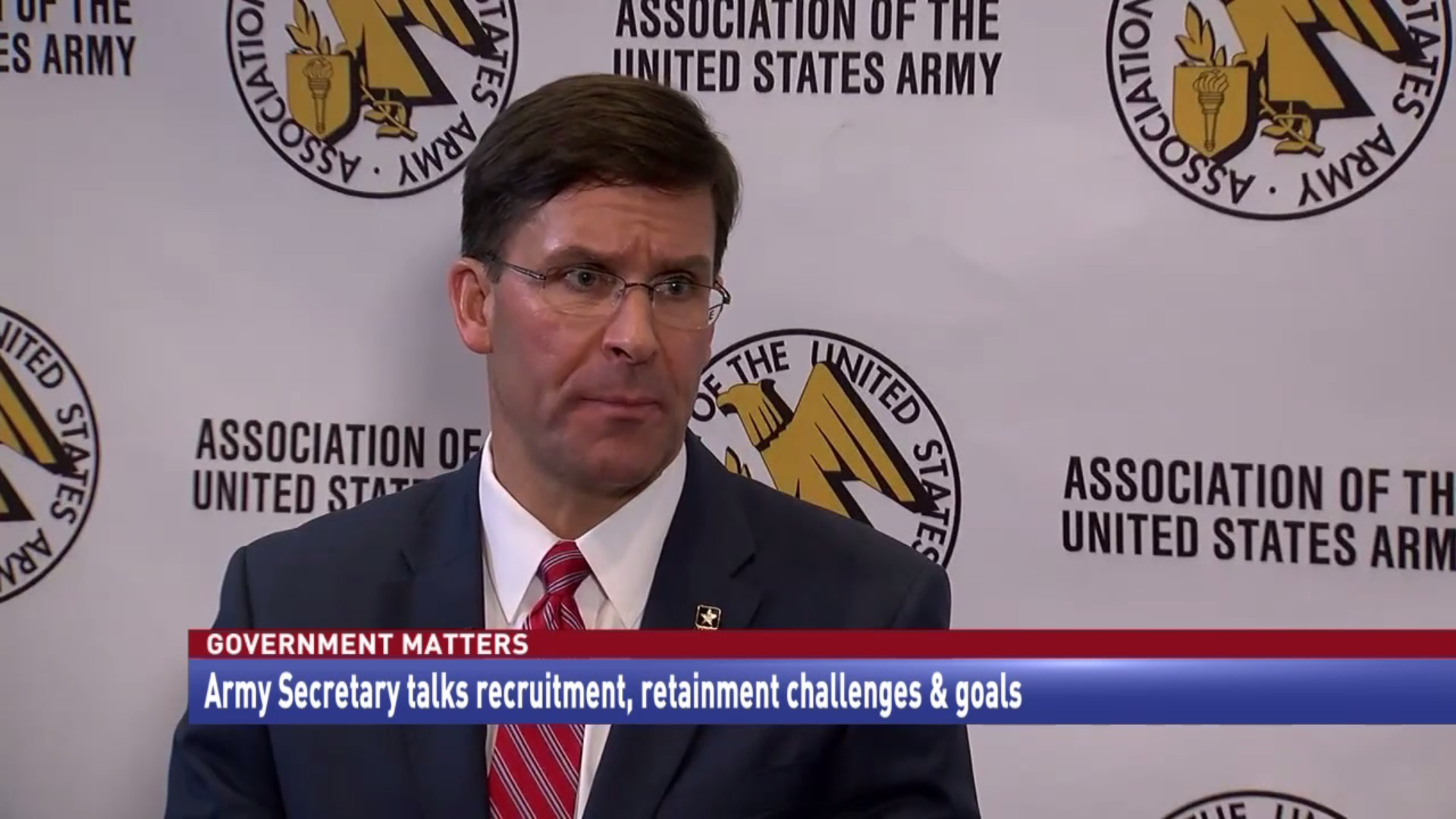 Army Secretary talks recruitment, retainment challenges & goals