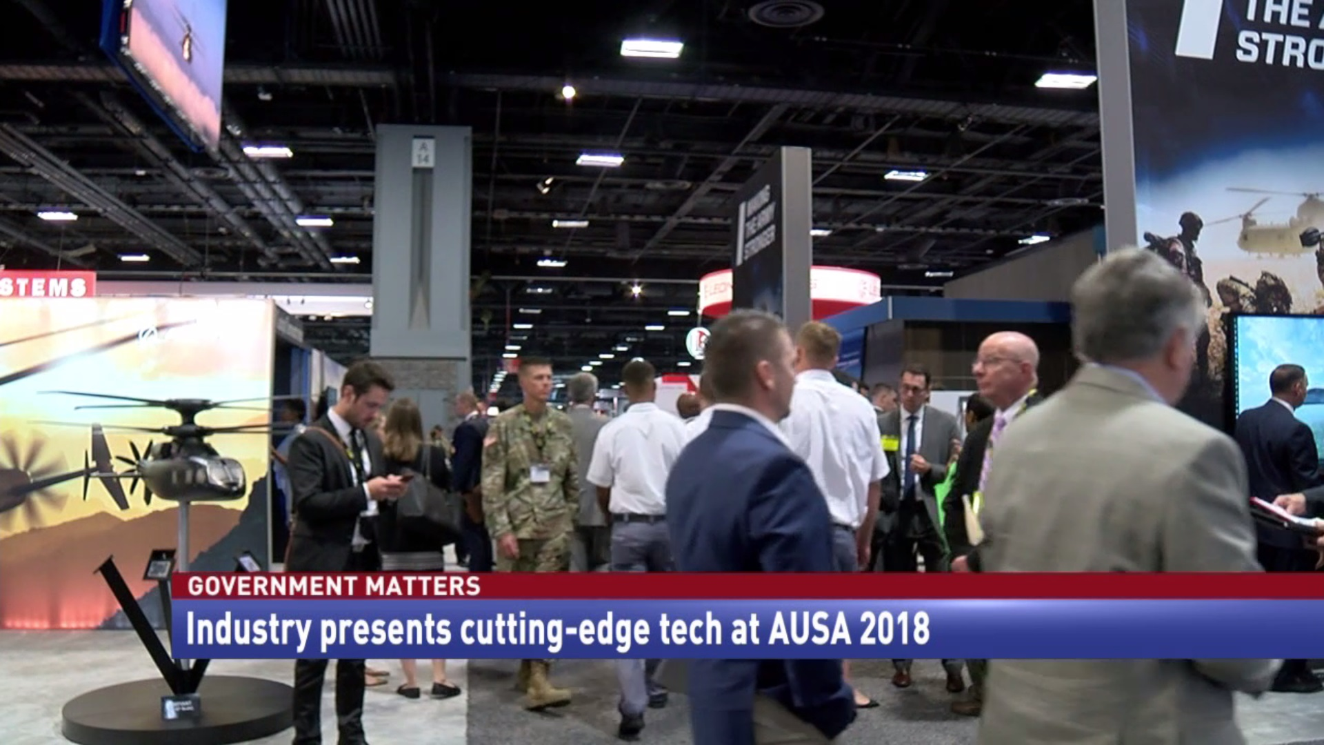 Industry presents cutting-edge tech at AUSA 2018